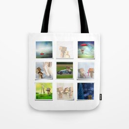 A life with Danbo Tote Bag