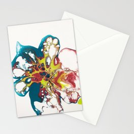 Acrylic Pouring Stationery Cards