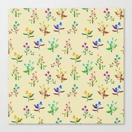 floral army Canvas Print