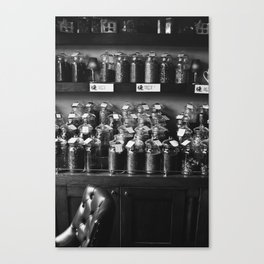 Thé & Tisane Canvas Print