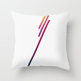 Blazing In The Sky Throw Pillow