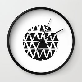 Indian Black Wall Clock