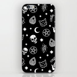 Witch pattern iPhone Skin