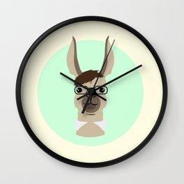Mr. Llama Wall Clock