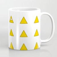 illuminati Mugs featuring Illuminati by BatNeko