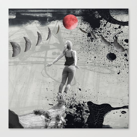 Voyage for the Moon Canvas Print
