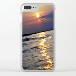 Shine Your Light On Me Clear iPhone Case
