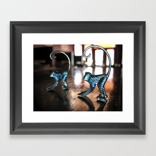 Monkeys Framed Art Print