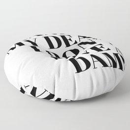 frankly my dear Floor Pillow