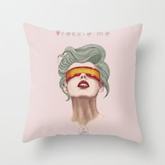 Trekkie Me Throw Pillow