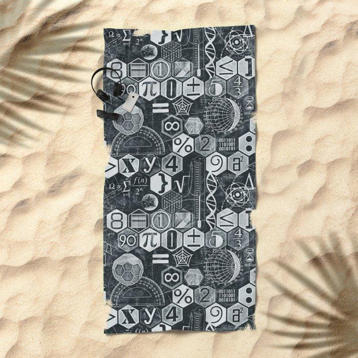Math Class Beach Towel