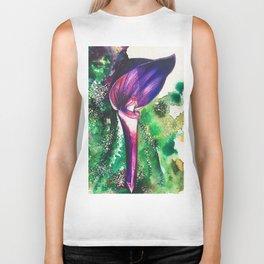 Violet Orchid Biker Tank