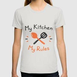 My Kitchen My Rules T-shirt