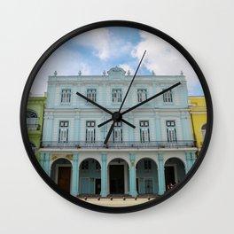 Slice of Havana Wall Clock