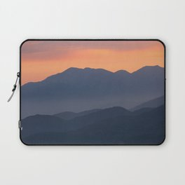 Mountain Sunset II (Big Bear Lake, California) Laptop Sleeve