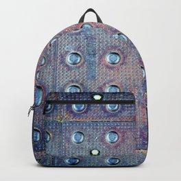 Urban Steel Texture Backpack