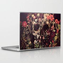 Bloom Skull Laptop & iPad Skin