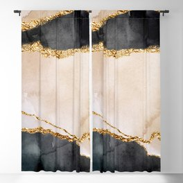 Stormy days Blackout Curtain