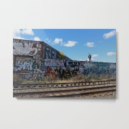 Detroit Exploring Metal Print