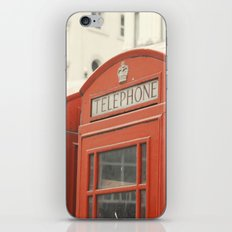 Telephone - London Photography iPhone & iPod Skin