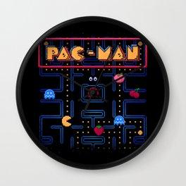 Man-Pac Wall Clock