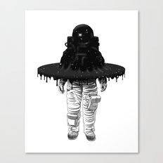 Through the Black Hole Canvas Print