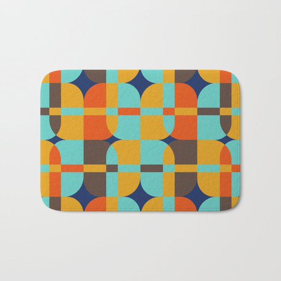 Geometric#20 Bath Mat