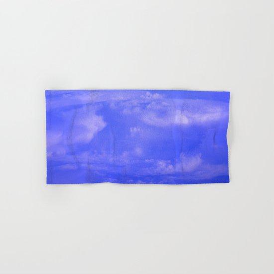 Aerial Blue Hues IV Hand & Bath Towel
