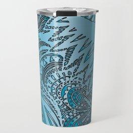 Blue Horse Travel Mug