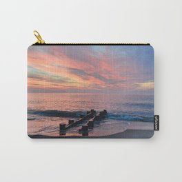cotton candy beach sky Carry-All Pouch