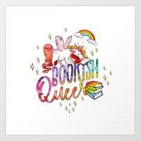 Bookish Queer Art Print