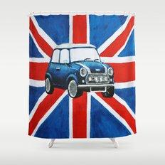 GB Mini Shower Curtain