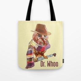 Dr. Who Owl Tote Bag