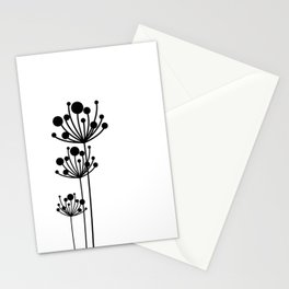 Minimal Floral Stationery Cards