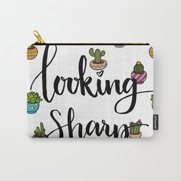 Looking Sharp Quote Carry-All Pouch