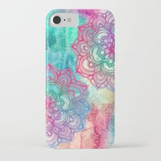 Round & Round the Rainbow iPhone 7 Slim Case