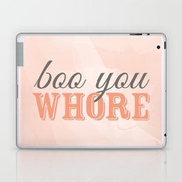 Boo You Whore-Mean Girls Laptop & iPad Skin