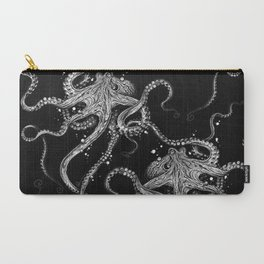 Octopus (black) Carry-All Pouch