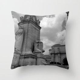 Union Station, No. 3 Throw Pillow