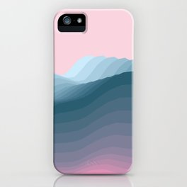 iso mountain iPhone Case