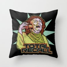Total Recall Throw Pillow