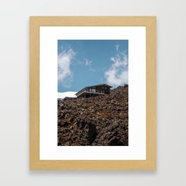 Mansion of the Mountain Framed Art Print