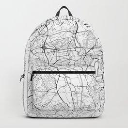 Dortmund Map White Backpack