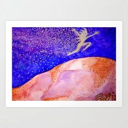 Star Jumper Art Print