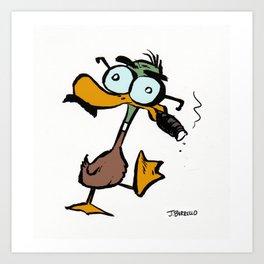 Quacko Marx Art Print