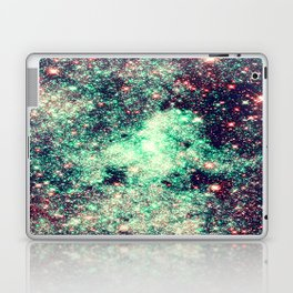 GaLaXy Stars Aqua Teal & Pink Laptop & iPad Skin