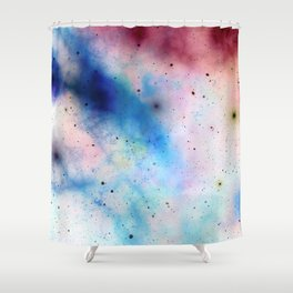 Galaxy Paradise:  Hotel of Stars Shower Curtain