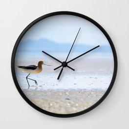 Avocet Wall Clock