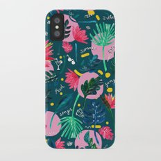 Cool summer night Slim Case iPhone X