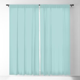 Cymbals ~ Light Turquoise Blackout Curtain